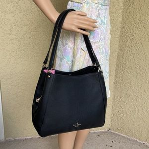 Kate Spade leila medium triple compartment shoulder bag